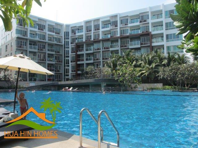 The Seacraze Hua Hin 1 bedroom condominium for rent, Hua Hin