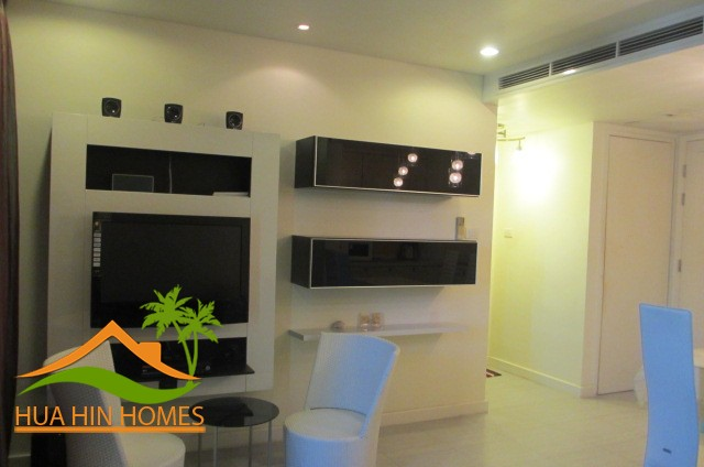 Mykonos Hua Hin 1 bedroom condominium for rent, Heart of Hua Hin center
