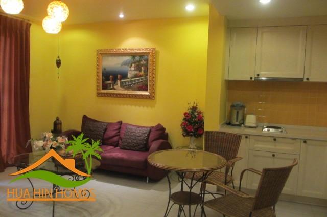 Mykonos Hua Hin 1 bedroom condominium for sale, Heart of Hua Hin
