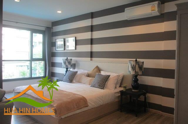 Fully Furnished1 bedroom condominium for sale, 2,840,000 Baht, Rain Resort Hua Hin Condominium – Cha-Am, Thailand