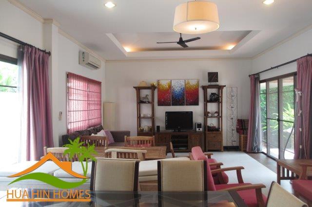 Bussaba 3 bedroom pool villa for sale in Hua Hin ( by Sansiri )