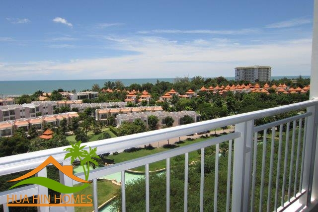 8th floor sea view 2 bedroom condominium for sale in The Legend Boathouse ( Hua Hin – Cha Am )