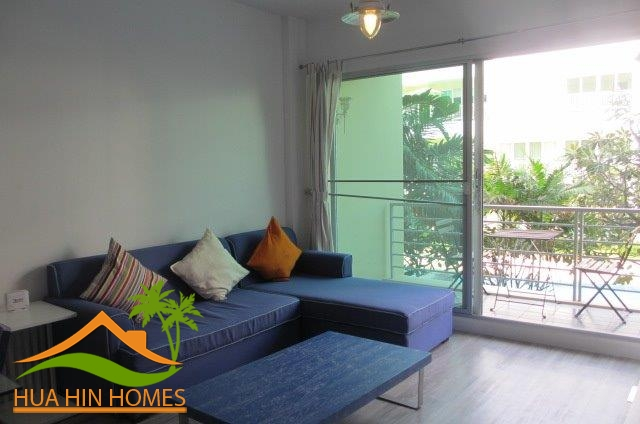 Baan San Pluem ( Hua Hin ) 1 bedroom condominium for rent, Hua Hin